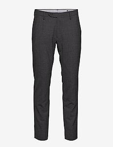 New Theo 1228 L30 - suitbukser - dark grey
