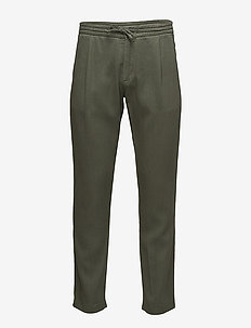 Domenico 1284 - suit trousers - moss