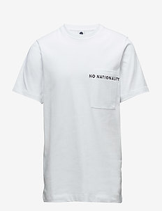 Piero 3348 - kortærmede t-shirts - white