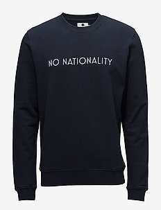 Matteo logo 3355 - sweats - navy blue