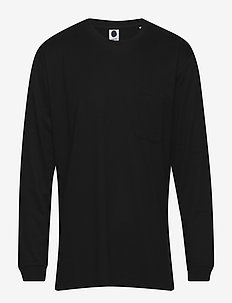Alec Sweat 3379 - long-sleeved t-shirts - black