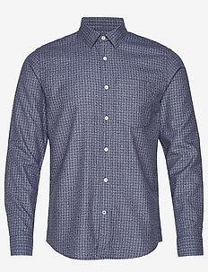 Falko 5039 - ternede skjorter - blue check