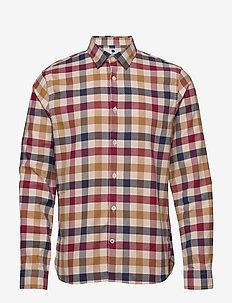 Alberto 5047 - koszule w kratkę - multi check