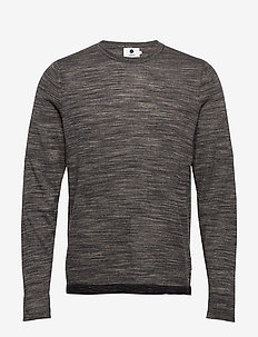 Axel 6290 - basic knitwear - grey mel.