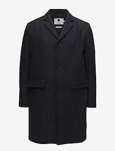 Lamont 8219 - wool coats - navy blue