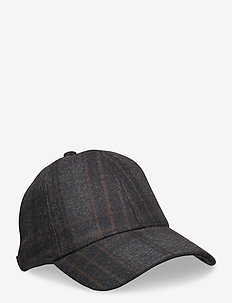 Baseball Cap 9122 - lakit - black check