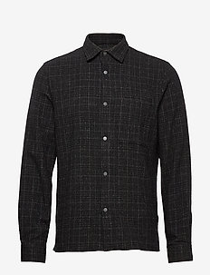 Basso 1339 - checkered shirts - black check
