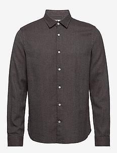 Alberto 5072 - basic skjortor - dark plum