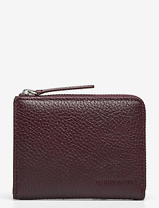 Half Zip Wallet 9107 - klassinen lompakko - dark plum