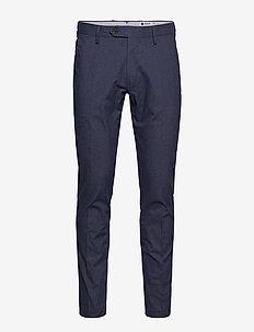 New Theo 1229 L32 - pantalons habillés - navy blue