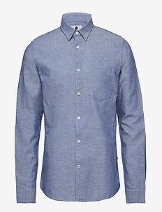 Leon 5092 - basic skjorter - blue horizon