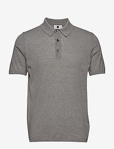 New Walt Polo 6327 - LIGHT GREY  MELANGE