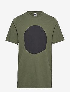 Mauro Print 3421 - kortærmede t-shirts - army