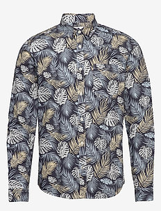 Leon 5144 - casual skjortor - multi colour print