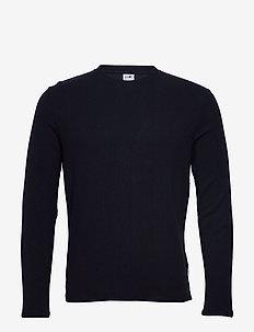 Clive 3323 - basic t-shirts - navy blue