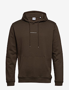Barrow Printed Hoodie 3385 - BROWN