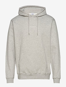 Barrow Printed Hoodie 3385 - hupparit - light grey  melange