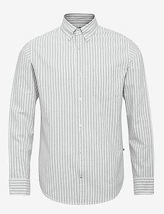 Levon BD 5142 - casual skjortor - green stripe