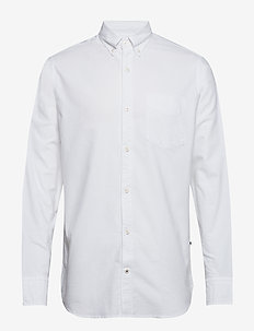 Levon BD 5142 - oxford shirts - white