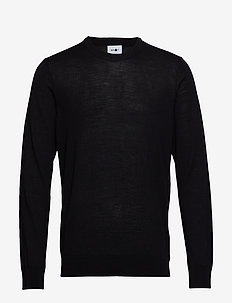 Ted 6120 - basic knitwear - black