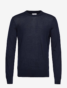 Ted 6120 - basic knitwear - navy blue