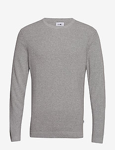 Julian 6194 - basic knitwear - medium grey melange