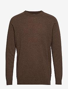 Edward 6333 - basic strik - brown melange
