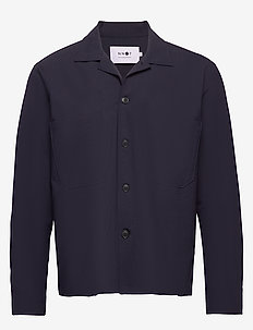 Rob Blazer 1325 - overshirts - navy blue