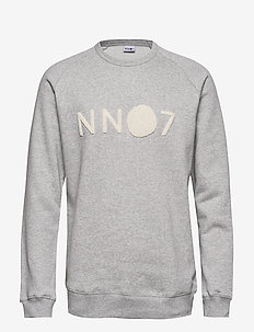 Robin Logo Sweat 3385 - LIGHT GREY  MELANGE