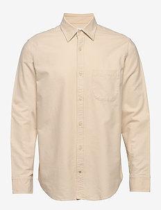 Errico Shirt 5160 - basic shirts - off white
