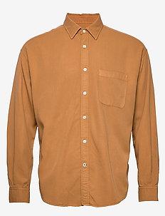 Deon Shirt 5161 - basic shirts - mustard