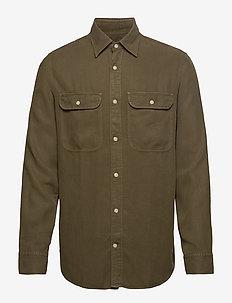 Alf Shirt 5408 - chemises décontractées - army