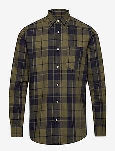 Levon 5822 - chemises à carreaux - green check
