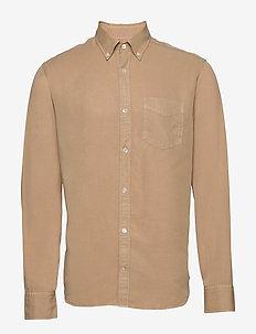 Levon Shirt 5969 - casual skjortor - khaki