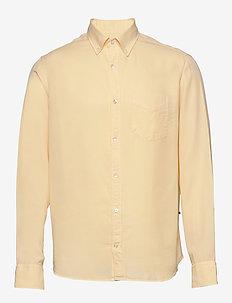 Levon Shirt 5969 - chemises basiques - pale sun
