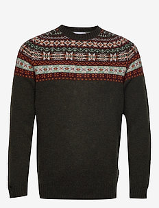 Nathan Fair Isle 6212 - DARK MULTI