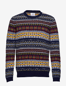 Fair Isle Crew 6212 - BRIGHT MULTI