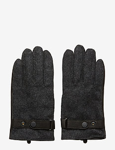 Glove Six 9077 - hanskat - dark grey