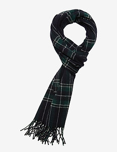 Scarf Two 9134 - huivit - blue/green check