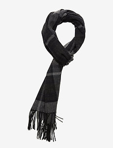 Scarf Two 9134 - sjaals - navy check