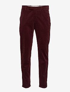 Scott 1427 L34 - suitbukser - burgundy red