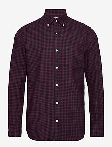 Levon Shirt 5064 - ruutupaidat - red check