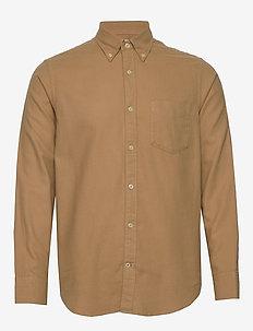 Levon Shirt 5159 - basic skjortor - camel