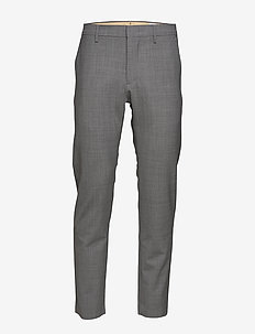 Theo 1228 L32 - suit trousers - grey mel.