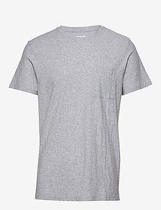 Aspen Tee 3420 - perus t-paidat - light grey  melange