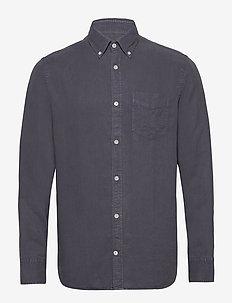 Levon Shirt 5029 - peruspaitoja - dark grey