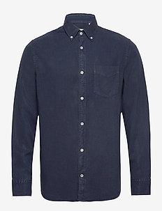 Levon Shirt 5029 - basic shirts - navy blue