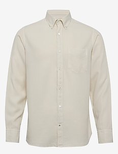 Levon Shirt 5029 - peruspaitoja - vanilla