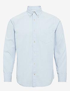 Levon Shirt 5082 - basic shirts - ice blue