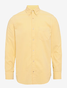 Levon Shirt 5082 - basic skjorter - yellow